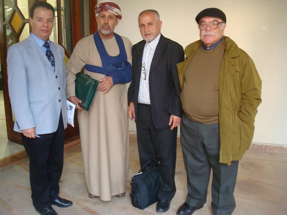هل يكون الأديب الدكتور سعيد الصقلاوي رئيس الجمعية العمانية للكتاب والأدباء ، أول أجنبي ينخرط في جمعية البحث التاريخي والاجتماعي بالقصر الكبير ؟؟؟
