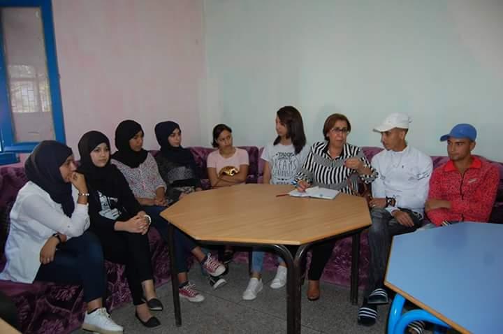 ثانوية الراشدي : تجديد نادي الشباب المتمدرس