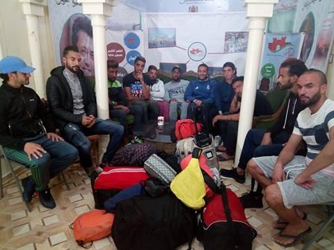 فيديو :ماذا قال لاعبو النادي القصري بعد تسجيل اعتذار فريقهم