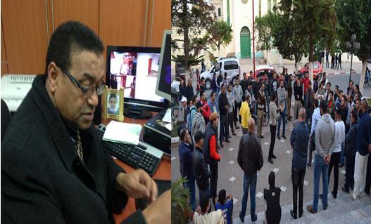 النادي الرياضي القصري :حسن ولد بوتكريش بين  التفاوض  و احتجاجات الفعاليات الرياضية