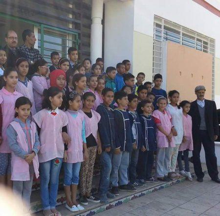 مدرسة عيسى بن قاسم في زيارة لفضاء الذاكرة التاريخية