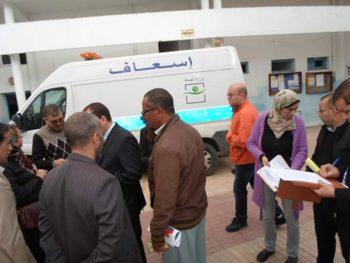 بعد الحديث عن معدات متدنية الجودة : لجنة مشتركة تزور مستشفى القصر الكبير