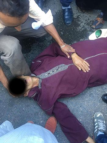 اتهامات بالاعتداء على شيخ مسن خلال حملة محاربة احتلال الملك العام