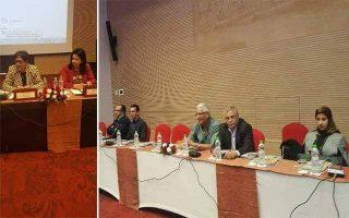 طنجة: سلمى الطود وفريدة الخمليشي يطرحان القانون الدولي الإنساني للواجهة