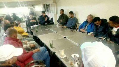 أزمة النادي الرياضي القصري واجتماع للفعاليات الرياضية