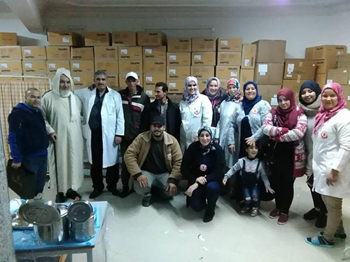 جمعتي الأمل و وادي المخازن : إقبال كبير في حملة التبرع بالدم