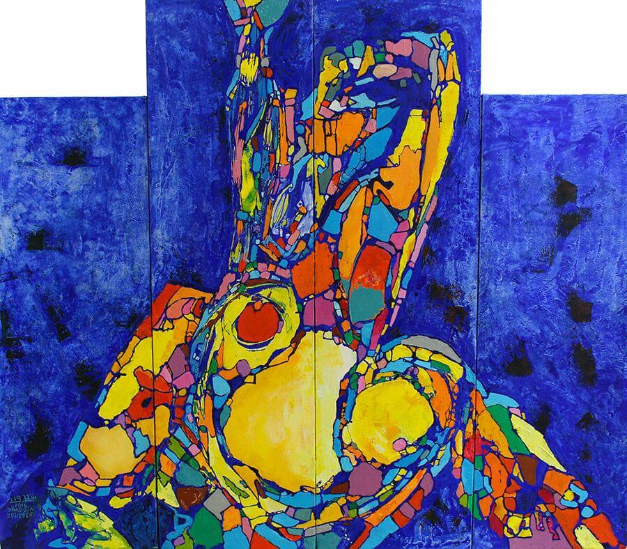 حوار مع الفنان التشكيلي يوسف سعدون