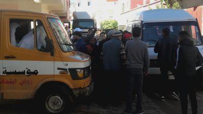 حادثتا سير في نفس اليوم بتجزئة حمزة