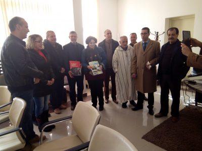 مهندس عن مدينة لاغوس البرتغالية في زيارة لجماعة القصر الكبير
