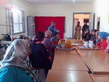 مركز التربية والتكوين دار الدخان يحتفل بذكرى مولد المصطفى الكريم