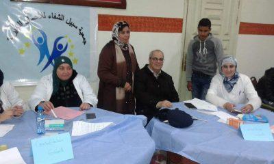 جمعية سبيل الشفاء في حملة طبية لفائدة نزلاء دار الطالب