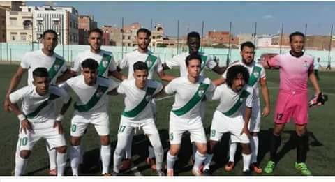 هزيمة أمام نهضة سطات .. وعاش النادي الرياضي القصري
