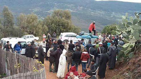 قافلة لنسيج جمعوي من المحمدية في مبادرة تضامنية بمنطقة احميمون