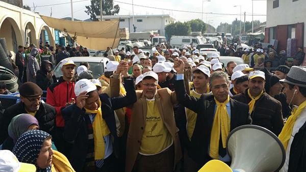 السيمو يواصل حملته التواصلية بجماعات إقليم العرائش ـ صور ـ