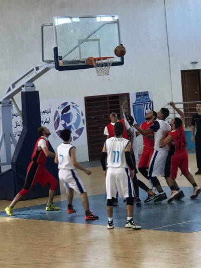 لوكوس القصر الكبير لكرة السلة في مقابلة ودية استعدادية