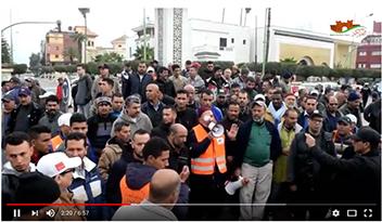 إضراب سيارات الأجرة