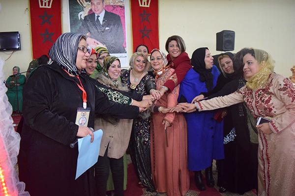 جمعية العهد للمرأة الصانعة تحيي حفلا فنيا بمناسبة اليوم العالمي للمرأة
