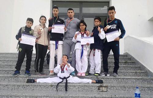 جمعية التنين الأخضر للرياضات تحقق نتائج باهرة في منافسات البطولة الجهوية للتايكواندو