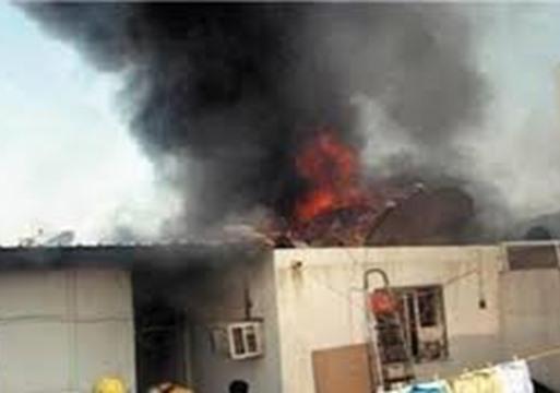 النيران تلتهم منزلا بالمرينة و تخلف أضرارا مادية جسيمة