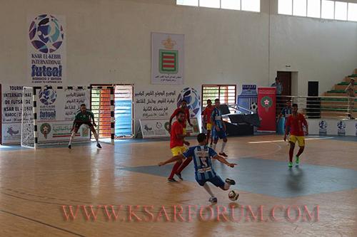 آجاكس طنجة يفوز على لكوس القصر و يحرز المركز الثالث في الدوري الدولي