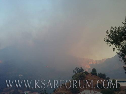 القلة : حريق بمدشر بني يحيى يخلف خسائر مادية جسيمة