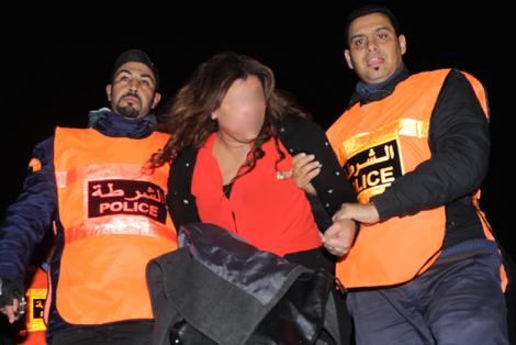 شرطة العرائش توقف متهمة بترويج الكوكايين