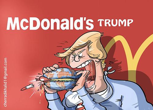 ماك… دونالدز ترامب