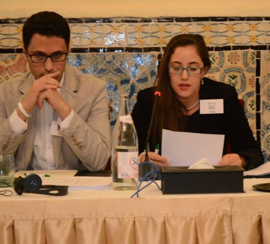 """الشاوي بشرائيل في قمة تونس """" عائلات ضد  الارهاب و التطرف"""""""