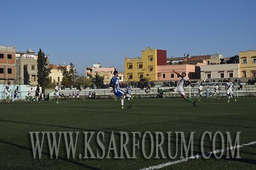 النادي القصري يحسم نتيجة ديربي اللكوس بعد سلسلة من الهزائم