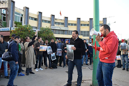 نفق المرينة : نشطاء الفايسبوك ينظمون وقفة جديدة و رئيس المجلس يعقد اجتماعا مع العامل
