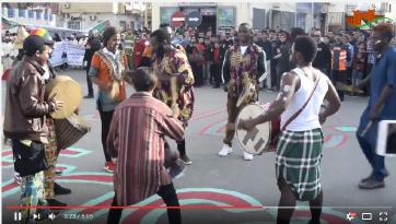 احتفالات بالقصر الكبير : أنا إفريقي