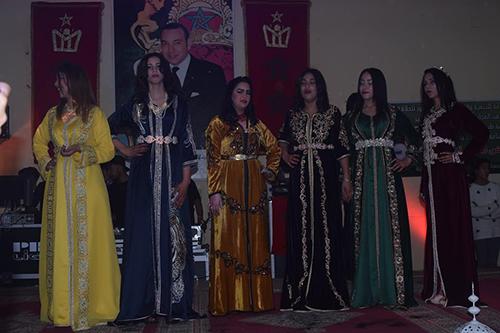 القصر الكبير : تنظيم  يوم تقني فني في الحلاقة والتجميل وعرض الأزياء التقليدية
