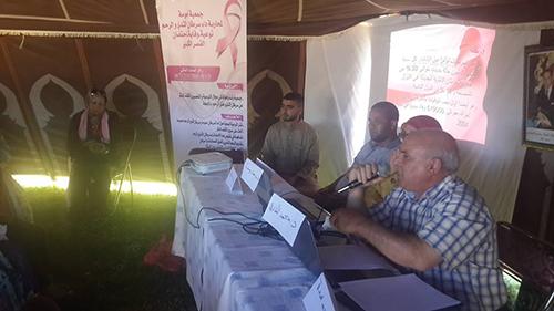 جماعة سوق الطلبة: حملة تحسيسية ضد سرطان الثدي والرحم بدوار النعميين