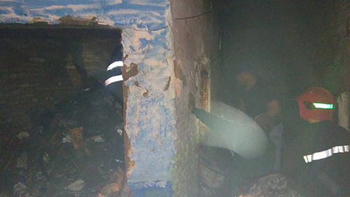 حي الديوان : حريق بمنزل مهجور يستغل لتعاطي المخدرات
