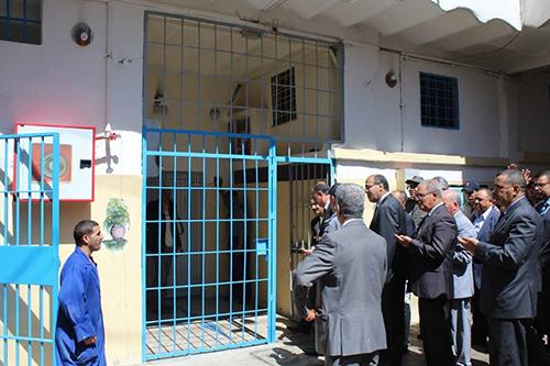 عامل الإقليم في زيارة تفقدية للسجن المدني بالقصر الكبير