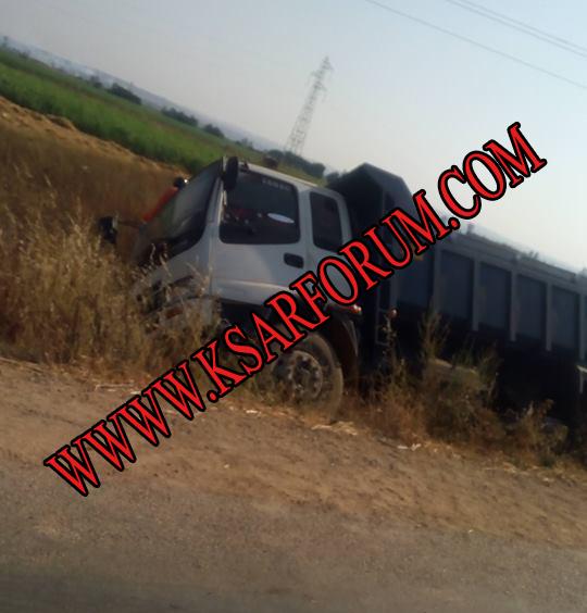 أحد عشر مصابا في حادثتي سير بطريق السواكن
