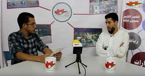 رضوان النادي : اللكوس له أعداء يريدون إفشاله و انتمائي السياسي حق دستوري
