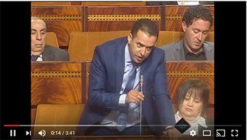 البرلماني الأحمدي: حول الطرق الجهوية والإقليمية