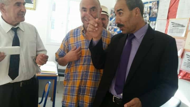 في أفق إخراج مدرسة ابن خلدون بالقصر الكبير من وضعيتها ….المدير الإقليمي يقوم بزيارة لها