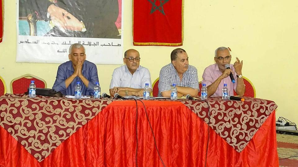 جمعية الأعمال الإجتماعية لموظفي وعمال بلدية القصر الكبيرتجدد مكتبها الاداري