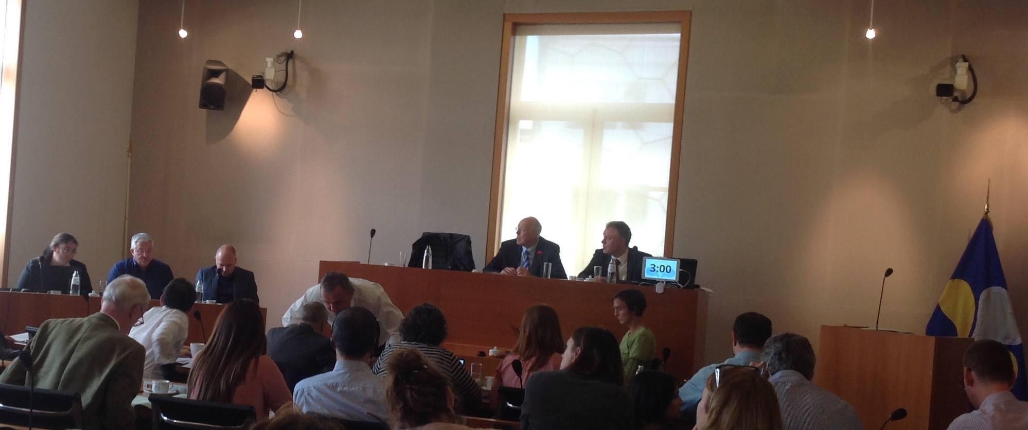 """بشرائيل الشاوي تتلقى دعوة من منظمة """"الصندوق الاوروبي للديموقراطية"""" ببروكسيل"""