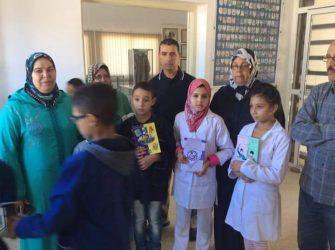 تلاميذ مدرسة عبد القادر السدراوي في زيارة لفضاء الذاكرة التاريخية