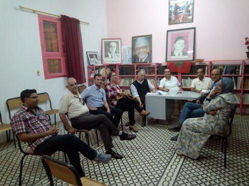 حزب الاستقلال القصر الكبير : تشكيل لجنة تحضيرية