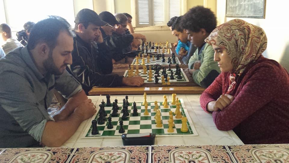 الفرس العربي للشطرنج بالقصر الكبير يستقبل برج مارتيل …