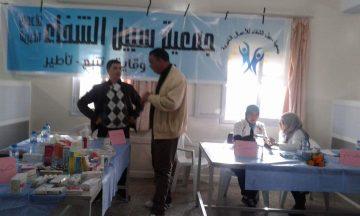 جمعية سبيل الشفاء للأعمال الخيرية في حملة طبية لدار المسنين