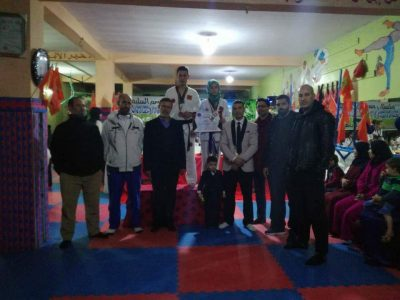 جمعية التنين الاخضر للرياضة والثقافة والتنمية تحتفي بأبطالها
