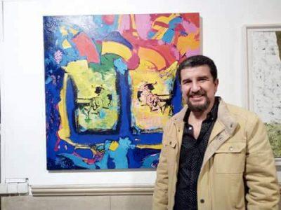 رواق الفن بتطوان : الفنان التشكيلي يوسف سعدون في حلمه الأزرق