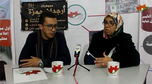 """"""" مع المجتمع المدني """" يستضيف سعاد برحمة عن جمعية أمومة لمحاربة السرطان"""