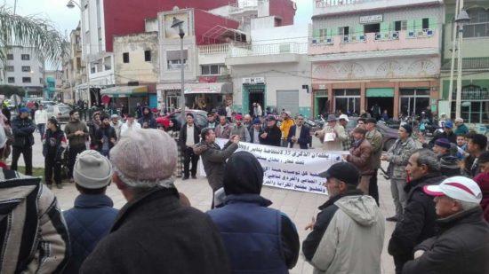 المنتدى المغربي للانصاف والمصالحة والجمعية المغربية لحقوق الانسان يخلدان الذكرى 35 لانتفاضة 1984 بالقصر الكبير