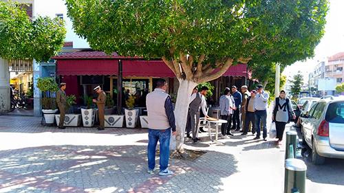 السلطة المحلية تشن حملة لمحاربة احتلال الملك العام من طرف أصحاب المقاهي و المطاعم